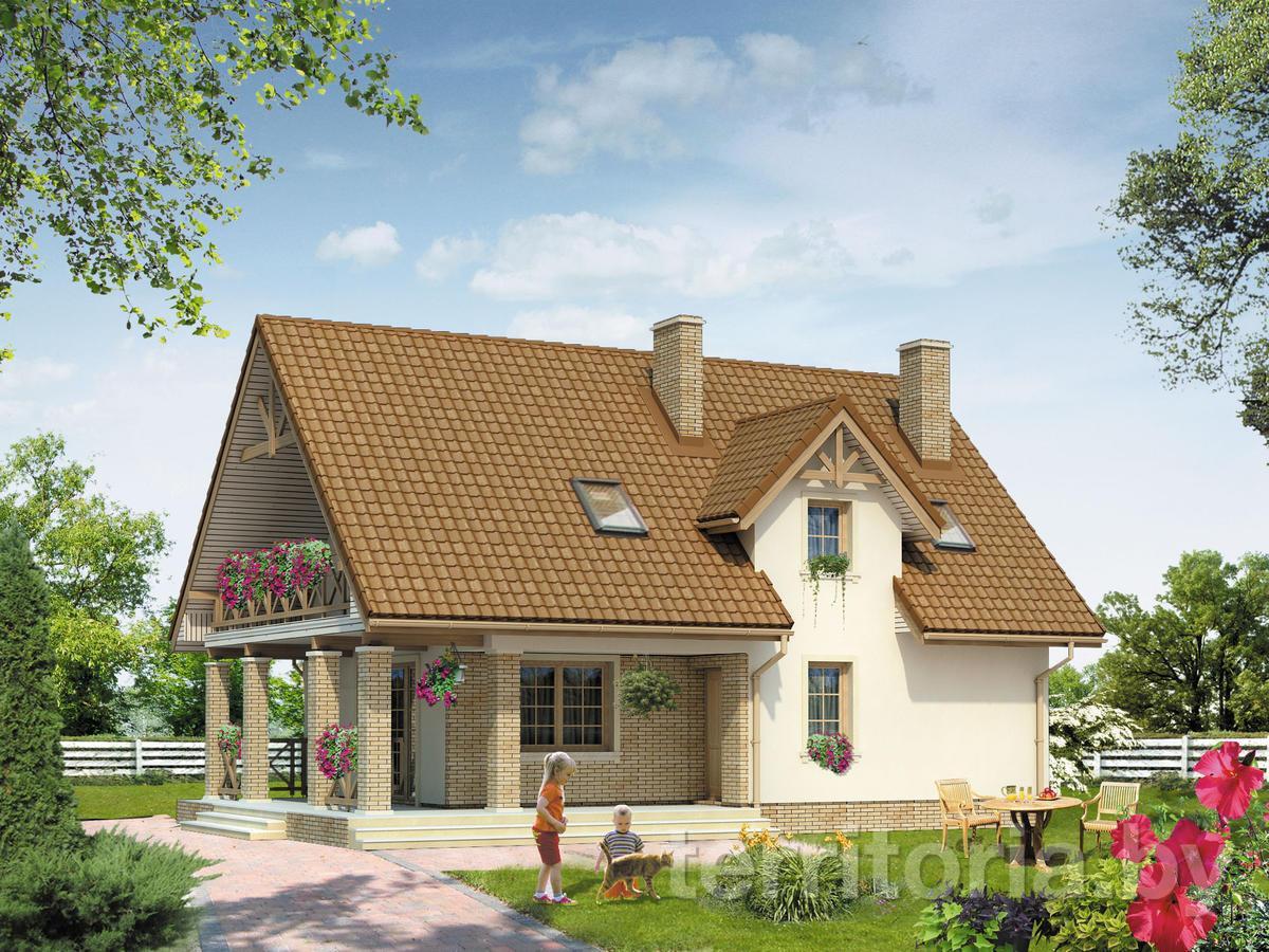 Проекты домов из пеноблоков по этажности: одноэтажные, двухэ.